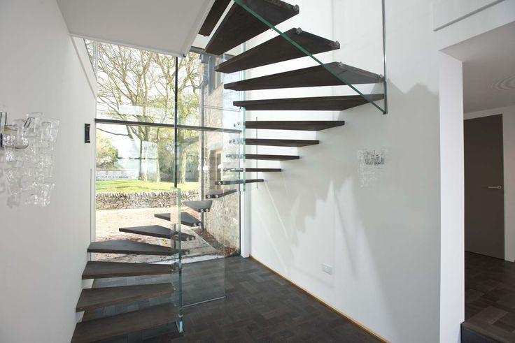 20 best glass balustrades images on pinterest stairs. Black Bedroom Furniture Sets. Home Design Ideas
