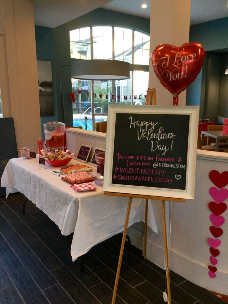 Valentine\'s Day Social at apartment community - Treats and Tweets ...