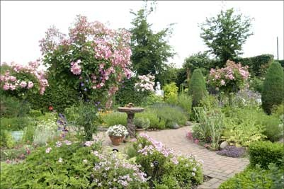 130 best images about herb gardens on pinterest gardens for Herbaceous border design examples