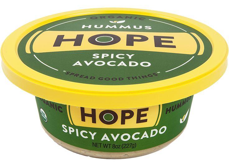Hope Hummus brands, Avocado hummus, Vegan hummus