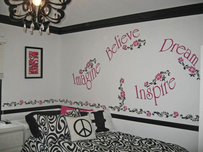 tween bedroom pink and black google search ideas for cheyennes new room