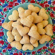 Bizcochitos de queso sin gluten!❤️ Fáciles de hacer y muy ricos!