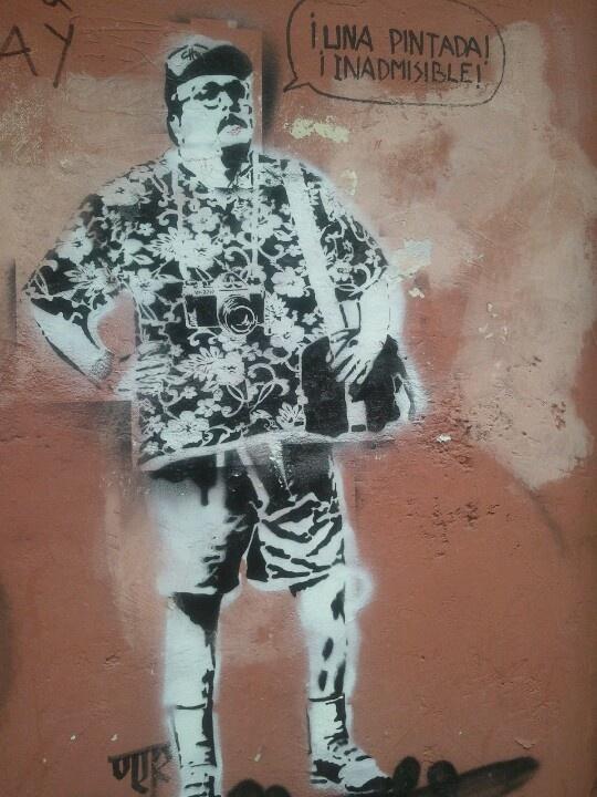 Una pintada inadmisible. Visto en Oviedo