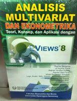 Toko Buku Sang Media : ANALISIS MULTIVARIAT DAN EKONOMETRIKA EVIEWS 8