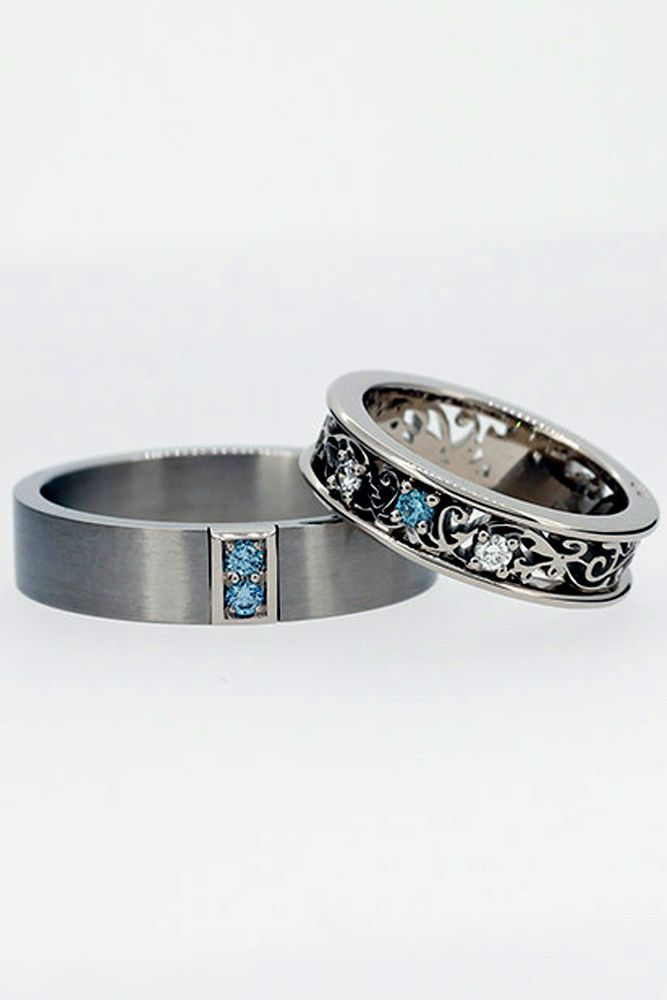 Pin By Top Wedding Accessories On Custom Wedding Bands Pinterest