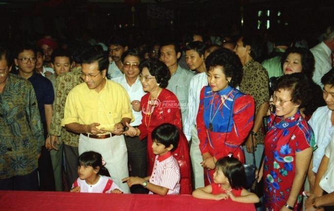 Perdana Menteri, Datuk Seri Mahathir Mohamad di Majlis Tahun Baru Cina anjuran Parti Gerakan di Hotel Federal - Events - My1Foto