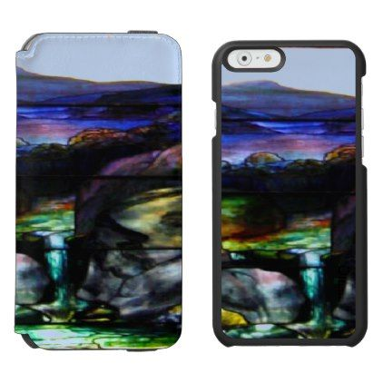 Gorgeous Colors Stain Glass Nature iPhone 6/6s Wallet Case - beauty gifts stylish beautiful cool
