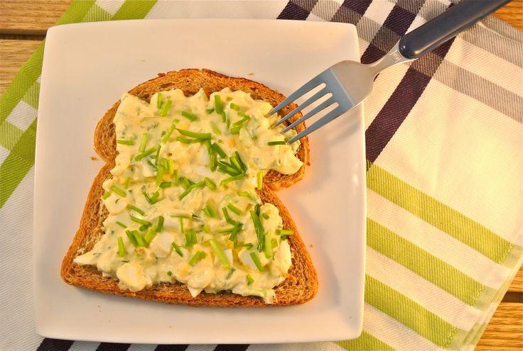De gezondere variant op de eiersalade - The healthier variation on the egg salad