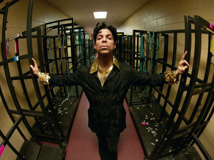 Dig, If You Will, Some Never-Before-Seen Pictures Of Prince In 'A Private View' : NPR