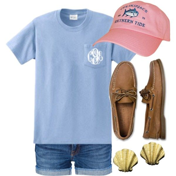 """Southern Tide"" by qtpiekelso on Polyvore"