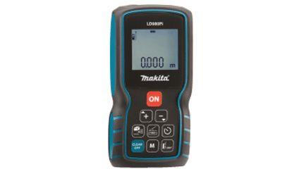 Medidor De Distancia a Laser LD080PI - Makita  MODELO - LD080PI CARACTERÍSTICAS Com corpo ergonômico. Armazena até 20 medidas na memória. Realiza cálculo de área e volume. Função rastreamento. Medição de inclinação. Rastreio de altura. ESPECIFICAÇÕES Alcance de medição : 80m Precisão de Medição : 1.5mm Fonte de energia : Bateria 2x 1,5V AAA Qtd. de Medições por bateria : 5.000 ITENS QUE ACOMPANHAM 2 pilhas alcalinas AAA, coldre e alça de transporte  www.colar.com