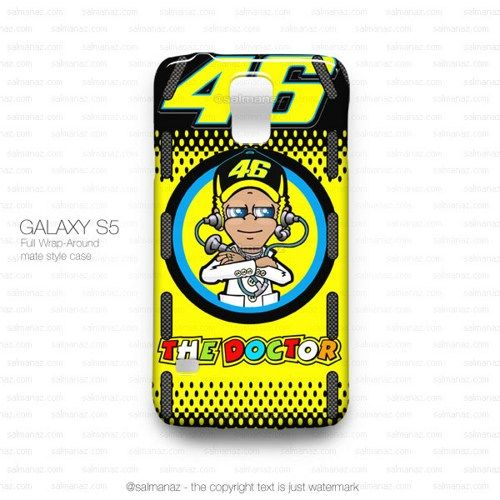 Valentino Rossi VR46 Pit Board Monster MotoGP Galaxy S5 Case