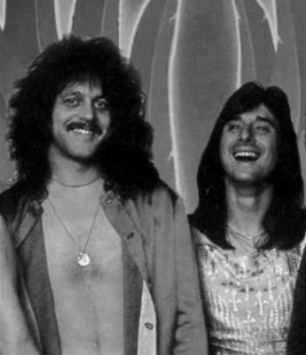 Gregg Rolie and Steve Perry