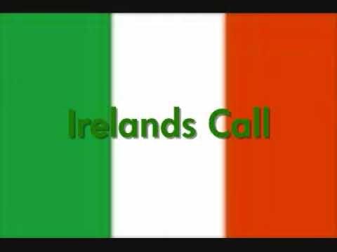 Irelands Call the irish rugby teams anthem    we love ireland