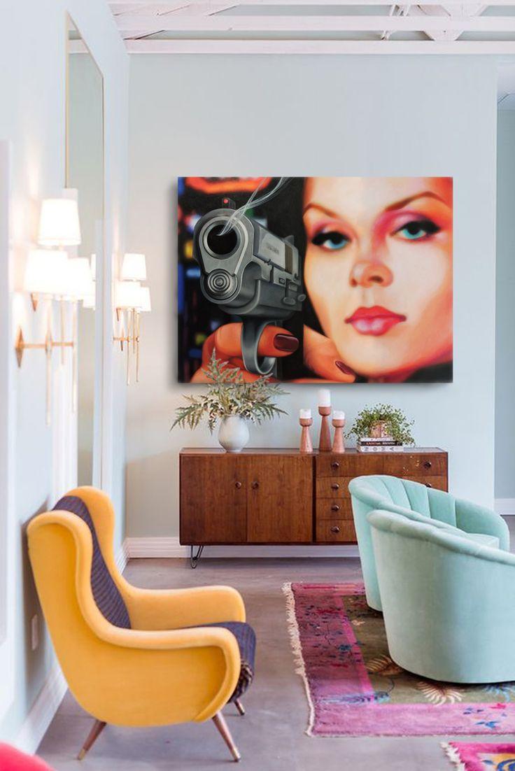 Liberty - Dennis Blair 2016 oil on canvas