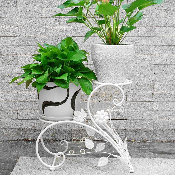 Espositore per bonsai, piante, casa, giardino, in alluminio, colore: bianco: Amazon.it: Casa e cucina