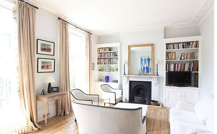 Image result for plans with fireplace and bookshelves