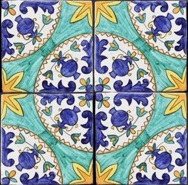 """Mattonaccio tile ceramic - Afrodite -   Touch of Sicily -Typical """"Mattonaccio"""" tiles."""