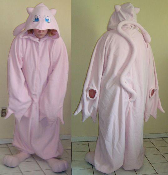 Mew Pokemon Kigurumi pajama by Bahzi.deviantart.com on @deviantART