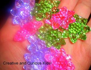 Creative and Curious Kids!: Flower Gem Activities