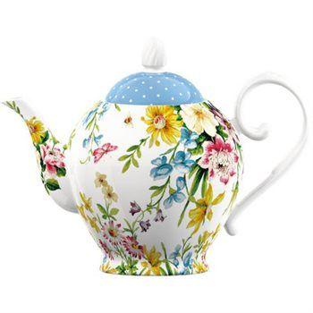 Creative Tops Katie Alice English Garden Porcelánová konvice na čaj 1250 ml