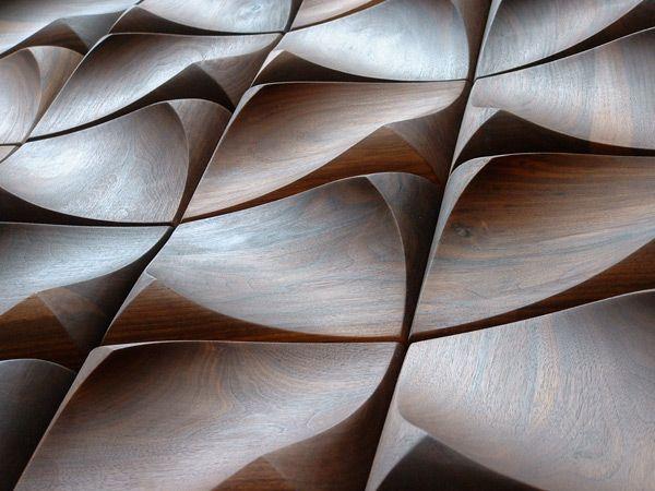 Gorgeous wood tiles