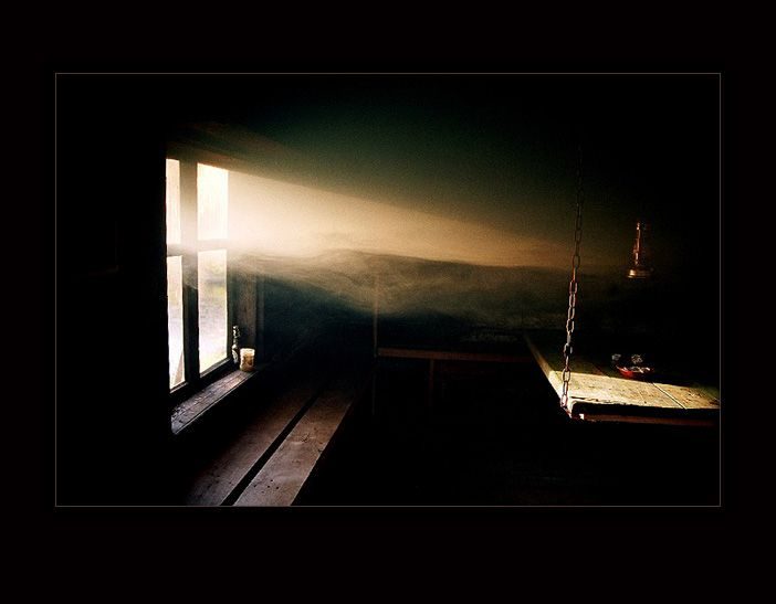 smoke sauna :: it's all about the light