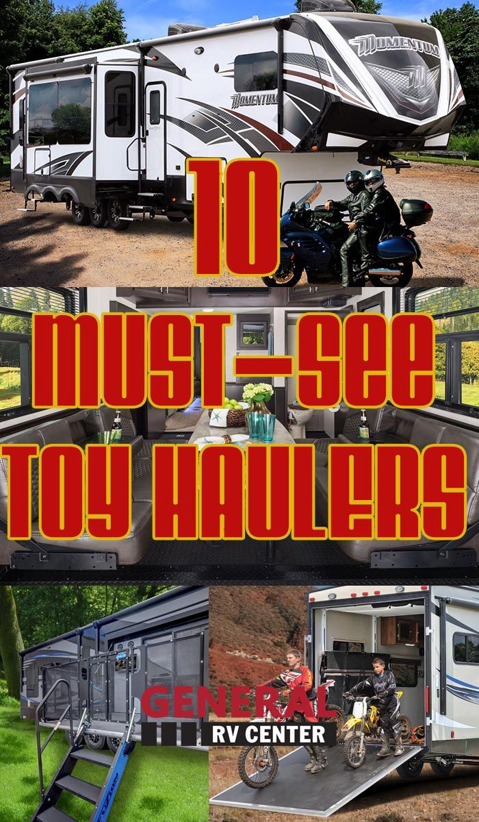 Rv: 685 Best Toy Hauler Fifth Wheel Images On Pinterest