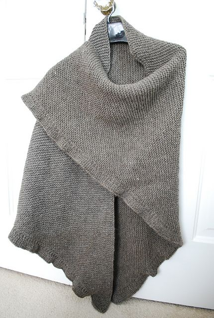 Ravelry: Gaskell pattern by SJ Looking for a nice garter stitch shawl pattern? This may be the perfect one.