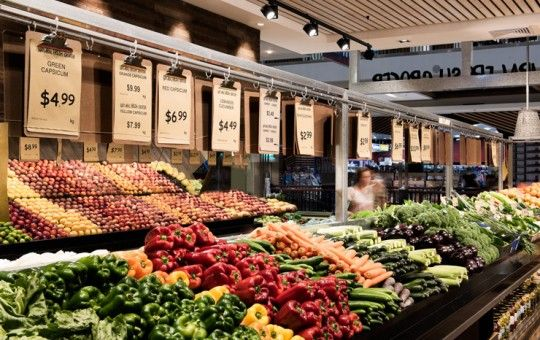 Natural Fresh Grocer///Westfield Burwood///Brand Identity | Graphic Design | Store Design | Joinery Design