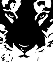 Black and White logo for Web Portfolio
