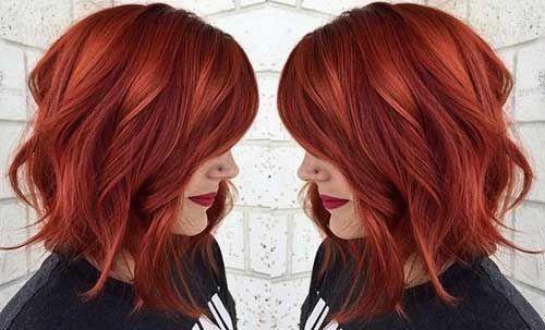 Jolie Couleur Pour Cheveux Mi-longs | Coiffure simple et facile