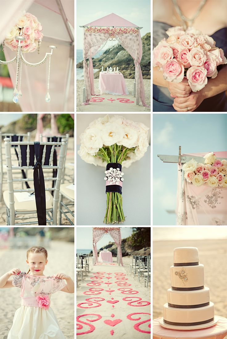 The 103 best Beach Wedding Ideas images on Pinterest | Beach ...