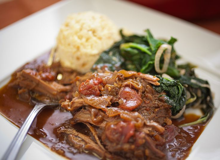 Beef Braised in Beer and Onions with Caraway Cauliflower Mash and ...