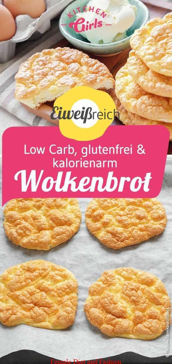 Recipe: Low Carb, gluten-free & low-calorie: cloud-bread, the protein bread for …