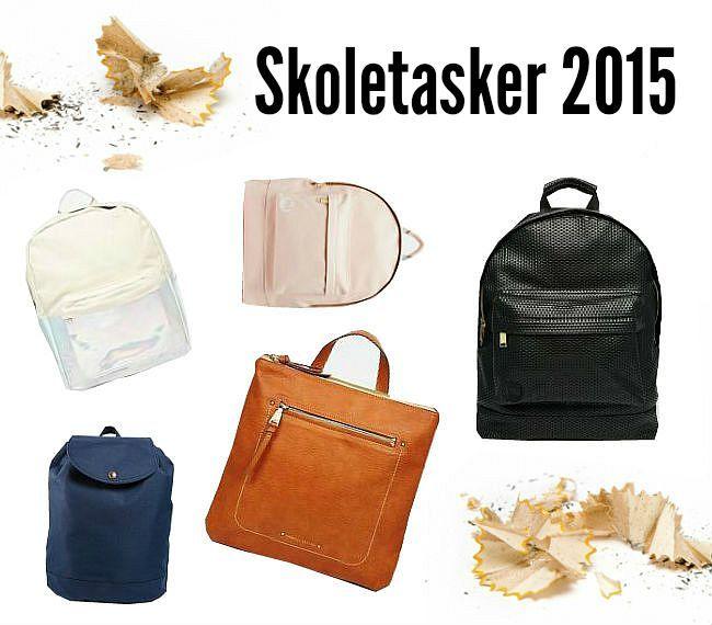 Fine, Sjove og Cool: Skoletasker 2015