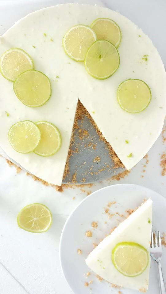 Limoen Mascarpone taart #limoentaart