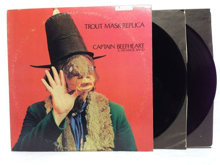 Captain Beefheart 1969 2LP Trout Mask Replica Original Pink Label Stereo Record | Trout mask replica and Lp