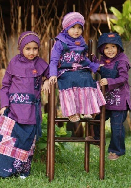 Model Baju Muslim Anak Laki Laki Dan Perempuan Terbaru