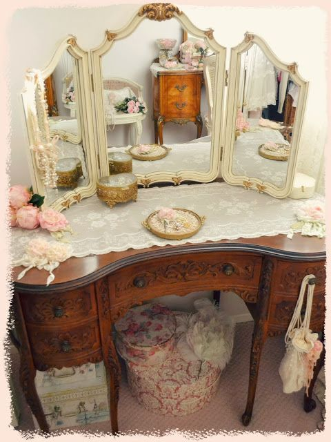 set table vanities adorable antique vanity home white with victorian