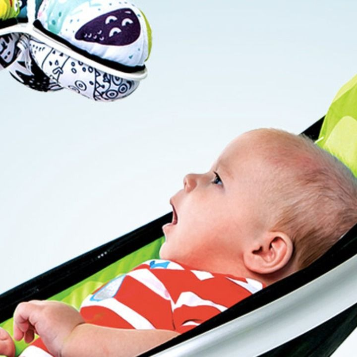 Mamaroo Infant Swing Plays Your Iphone S Music For Baby