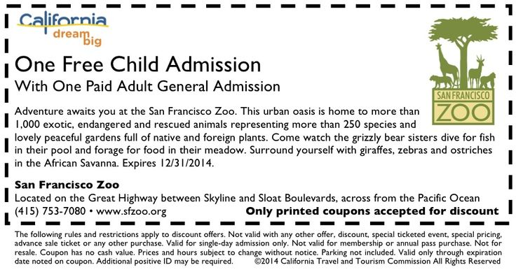 Discount coupons cleveland zoo
