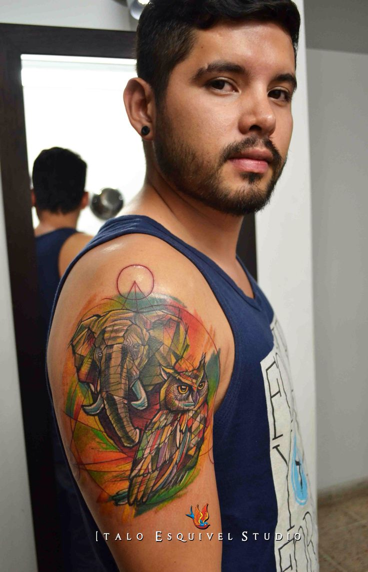 Animal tattoo By italo esquivel