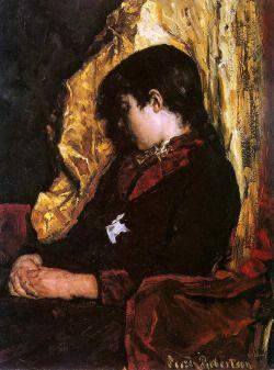 .:. Suze Robertson - Slapend Meisje (Girl Asleep) (ca. 1889)