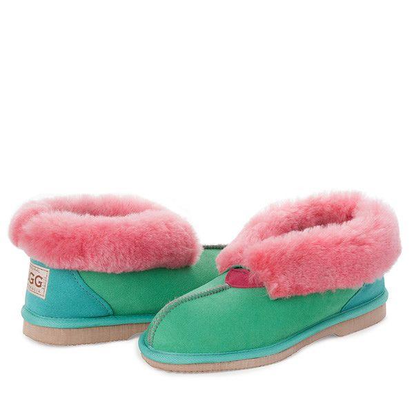 Papaya Sheepskin UGG Slippers #papaya #sheepskin #ugg #boots #slippers #uggboots #australia #aussie #australian