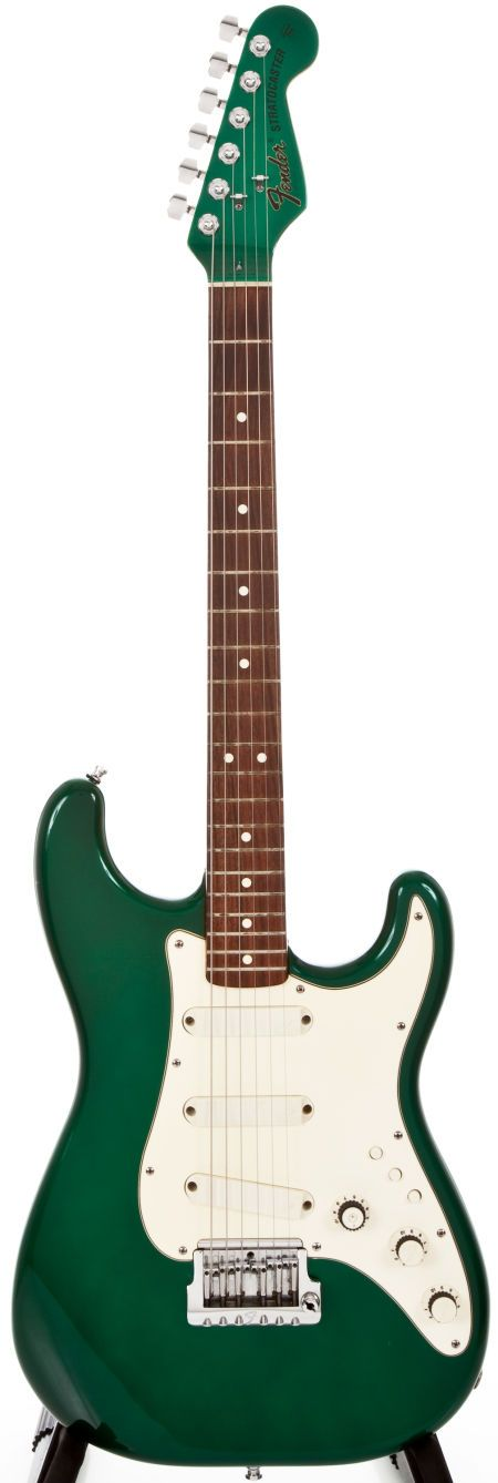 1984 Fender Stratocaster Elite 7-Up Green Solid Body Electric Guitar, #CE 0101.