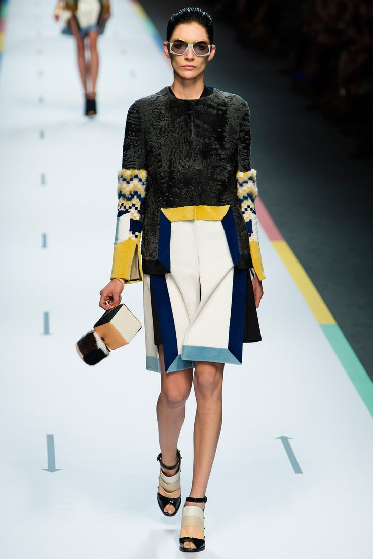 Fendi Spring 2013 Ready-to-Wear Fashion Show - Janice Alida