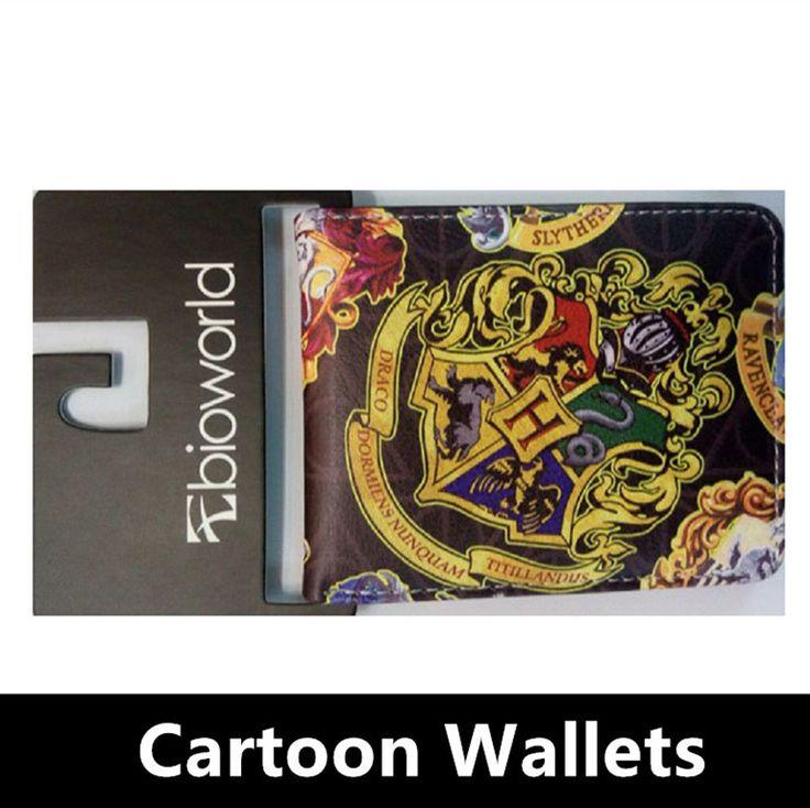 Envío Gratis Harry Potter Sherlock Rick y Morty Avatar de Crédito de la Carpeta Licencia de Ostras hombres Tarjeta Monedero Con Monedas de Bolsillo