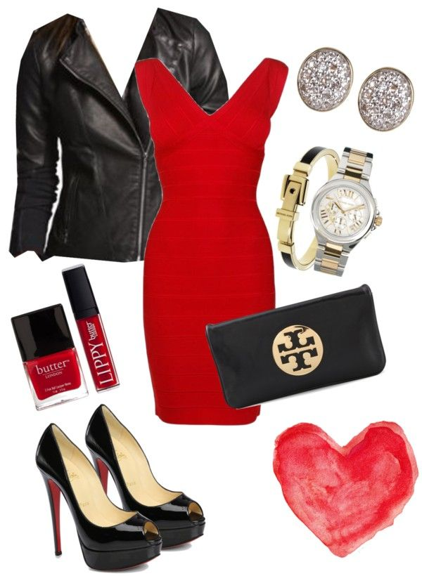 valentine's date night: the little red dress