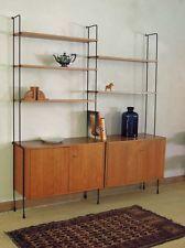 60er Jahre Regal Omnia string nuss teak stringregal shelf. eames jacobsen era